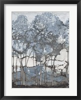 Watercolor Forest II Framed Print