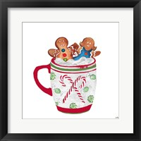 Gingerbread and a Mug Full of Cocoa I Framed Print