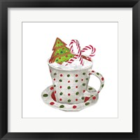Gingerbread and a Mug Full of Cocoa II Framed Print