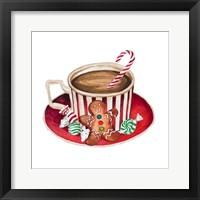 Gingerbread and a Mug Full of Cocoa III Framed Print