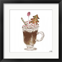 Gingerbread and a Mug Full of Cocoa IV Framed Print