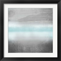 Foggy Loon Lake I Framed Print