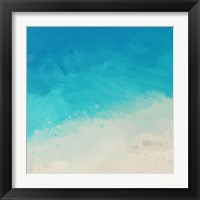 Ocean Blue Sea II Framed Print