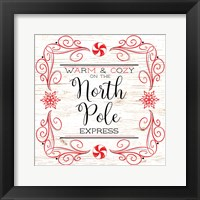 North Peppermint Pole I Framed Print