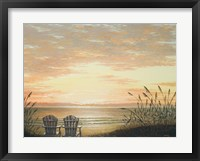Framed Sunset Chairs