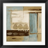 Fall Abstract II Framed Print