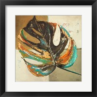 Contemporary Leaves II Framed Print