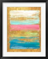 Framed Palette with Pink