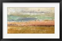 Framed Sunset In The Cornfield