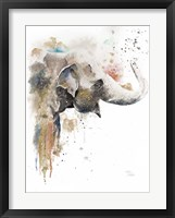 Framed Water Elephant