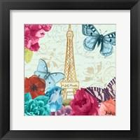 Framed Belles Fleurs a Paris I