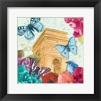 Framed Belles Fleurs a Paris II