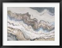 Framed Neutral Marble