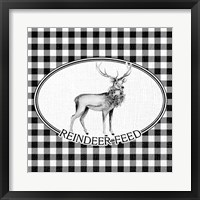 Framed Reindeer Feed