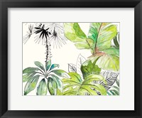 Green Palms Selva II Framed Print