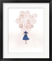 Framed Balloon Gal