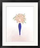 Framed Flower Gal