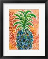 Framed Pineapple Collage I