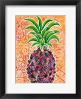 Framed Pineapple Collage II