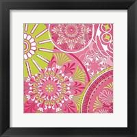 Framed Pink Bubblegum II