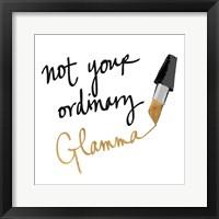 Framed Not Your Ordinary Glamma