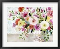 Framed Dance of Flowers