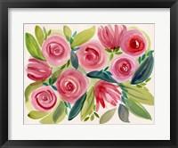 Framed English Roses 2