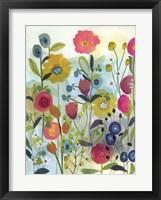 Framed Wandering Watercolor Texture
