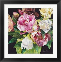 Framed Mixed Peonies