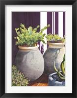 Framed Cactus Pots