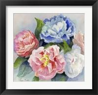 Framed Five Flowers