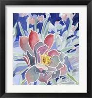 Framed Graphic Flower