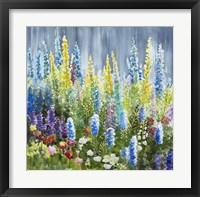 Framed Mixed Flower Garden