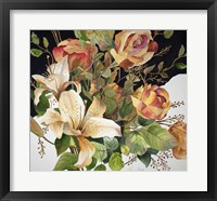 Framed Roses and Lilies