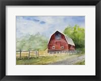 Framed Steamboat Barn