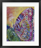Framed Butterfly Wishes