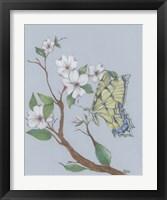 Framed Dogwood Butterfly