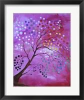Framed Polka Dot Tree