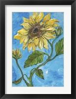 Framed SunFlower Love