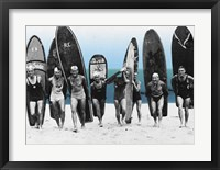 Framed Surf's Up, Boys 1922