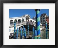 Framed Venice - Rialto Bridge