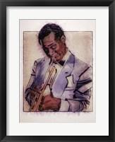 Framed Jazz Man