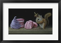 Framed Squirrel With Meringues