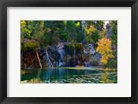 Framed Hanging Lake