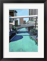 Framed Overpass on Teal