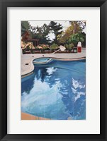 Framed Backyard Pool