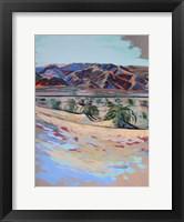 Framed Death Valley Dunes
