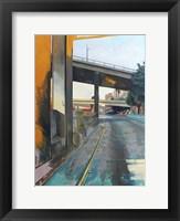 Framed Golden Afternoon Drive