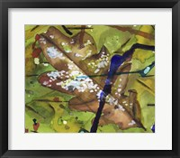 Framed Leaf Expression