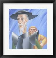 Framed Don Quixote And Sancho Panza